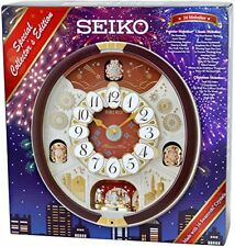Seiko Special Collector's Edition Melodies in Motion Wall Clock with Swarovski C
