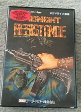 MIDNIGHT RESISTANCE Mega Drive SEGA Genesis JAPAN Import with Case - RARE