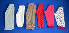 Filles Pantalon 12-24 mois JOB LOT/BUNDLE x6 items used et délavé