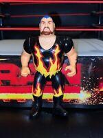 RARE VINTAGE WWE BAM BAM BIGELOW HASBRO WRESTLING FIGURE WWF SERIES 8 1991