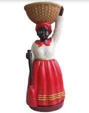 12 Inch Madame Statue La Negra Tomasa Statue Santeria Madam Madama Cuba Yoruba