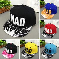 Trendy Hat Toddler Kids Baby Boys Girl Letter Baseball Hip Hop Bboy Snapback Cap