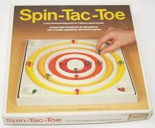 Vintage 1980 Great Games Inc Spin-Tac-Toe New Twist Transforms Old Game