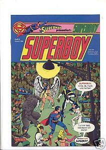 Superboy Ehapa 1980/1 - 34/1985 komplette Serie Top! 73 Hefte DC Heftserie