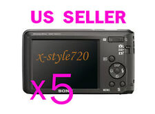 5x Sony CyberShot W520 Clear LCD Screen Protector Guard Cover Film