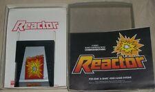 Atari 2600 Reactor with Original Box 1982 VGC Video game Parker Brothers