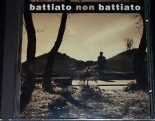 BATTIATO NON BATTIATO (CONSOLI-BLUVERTIGO-NADA-C.S.I.-KABALLA'..)- CD RARISSIMO