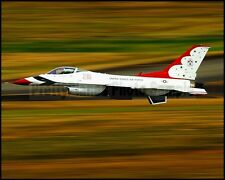 USAF Thunderbirds F-16 Opposing Solo Take Off McChord 2012 8x10 Photos