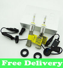 R3 9600lm H8 H9 H11 White 6000K Car LED Headlight Conversion Lamp Kit Cree XHP-5