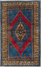 "Hand-knotted Turkish Carpet 5'6"" x 9'6"" Anatolian Vintage Wool Rug...DISCOUNTED!"
