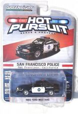 GREENLIGHT HOT PURSUIT SERIES 12 1993 FORD MUSTANG GT SAN FRANCISCO POLICE