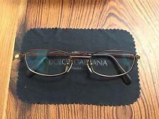 Dolce & Gabana Designer Framed Glasses With Clear Lenses 100% Genuine
