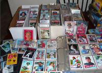 REPACK OLD CARDS vintage baseball card lot OF 50& Wax 1970's-2010 W Rookies HOF