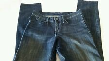 Rock and Republic womens jeans size 6 straight leg Dark