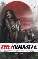 DIE!NAMITE #5 (LUCIO PARRILLO VARIANT)(2021) COMIC BOOK ~ Dynamite Entertainment