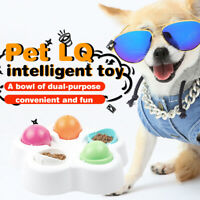 IQ Smart Toy Supplies Pet Interactive Toy Cat Dog Bowl Funny Looking