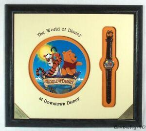 Winnie the Pooh & Tigger Character Watch & Artwork by Disney Framed Artist