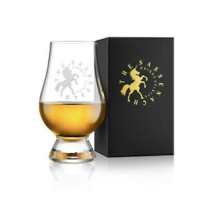 """Unisex """"The Sassenach"""" Whisky Glass By Sam heughan NEW 4.5"""" H x 3"""" W"""