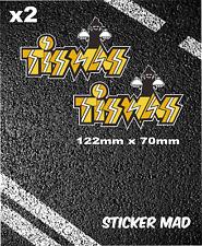 Funny Retro TIZWAZ Stickers VW  Splitty Bay T2 Volkswagen Golf Polo wolfsburg T5