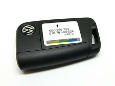 GENUINE VW GOLF Mk7 2013-2017 3 BUTTON REMOTE FLIP KEY FOB 5G0959752 REF FOB-9