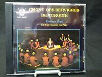 Chant of Derviches de Turquie Musique SOUFI CD