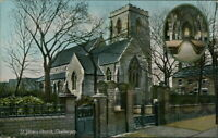 CLEETHORPES St. Peter's Church Postcard LINCOLNSHIRE Jackson & Son