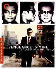 Vengeance Is Mine (Criterion Collection) Blu-Ray, Shohei Imamura