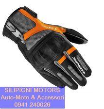 Spidi Guanti Moto TXR con Protezioni Nero/arancio Tg. M