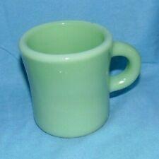 Fire King Jadeite Restaurant Ware Coffee Cup Mug Small Flaw