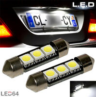 2 ampoules à LED pour l'éclairage des feux de plaque Porsche Cayenne 1