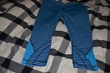 Lululemon Run: Inspire Crop II Seawheeze Cropped Pants~Size 10~ NWT