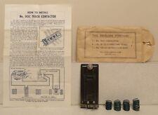 Lionel Postwar 145C Contactor in 145-39 Envelope - Complete! - For 145, 151, 252
