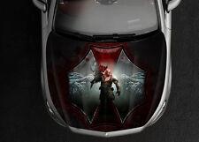 Resident Evil Car Hood Wrap Full Color Vinyl Sticker Decal Fit Any Car