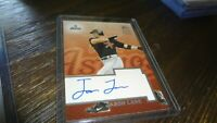 2002 TOPPS JASON LANE  #TA-JL   AUTOGRAPHED  BASEBALL CARD