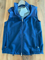 BRUNELLO CUCINELLI HOODED CULT LIGHT WIND GILET SPA VEST WESTE JACKE JACKET 46 S