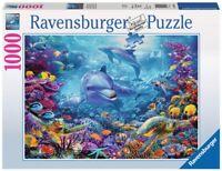 RAVENSBURGER 19833 MAGNIFICO MUNDO SUBMARINO Underwater World PUZZLE 1000 PIEZAS
