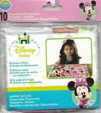 Minnie Mouse 10 Disposable Placemats (new in package)