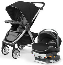 Chicco Bravo Air Stroller w/ KeyFit 30 Zip Car Seat Travel System Q Collection