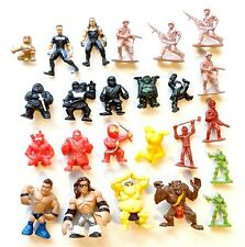 """Lot of 24: Ninjas Fighters Wrestlers Mini-Figures * 1 to 2.5"""" *Combine Shipping!"""