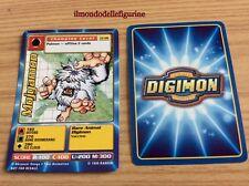 MOJYAMON CARD DIGIMON CP-08 BANDAI 1999