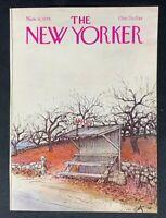 COVER ONLY ~ The New Yorker Magazine, November 6, 1978 ~ Arthur Getz