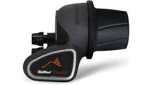 Nuvinci N360 N380 Enviolo Schalthebel Drehgriff  Display silber