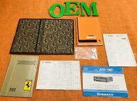 FERRARI BB 512 OWNERS MANUAL BERLINETTA BOXER SET + ORIGINAL KEYS + POUCHE CASE