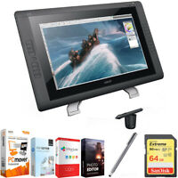 "Wacom 22"" HD wide-format Interactive Pen Display w/ Grip Pen w/ Corel Suite Kit"