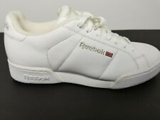 Reebok 1990's Mens VTG White NPC II Fashion Sneaker-  SZ 6.5 *box missing cover*