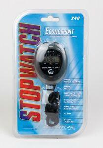 2004 Sportline Econosport Basic Series Stopwatch Model 240 New Old Stock SEALED