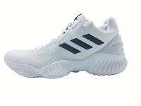 New Adidas Pro Bounce Low 2018 Men's Size 6.5 -11.5 -12.5 Basketball Shoes White