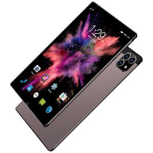 "8.1"" Inch Android 11.0 Tablet PC 128GB 12 Core Dual SIM 3 Cameras GPS Phablet eu"
