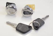 PEUGEOT 106 96-03 205 82-97 405 87-97 LOCKSET RIGHT LEFT DOOR LOCK BARREL KEYS