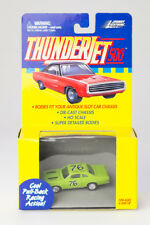 Nos Johnny Lighting Lime Green Ford Stock Car Ho Slot Car